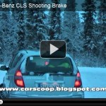CLS Shooting Brake é flagrada em testes na Europa