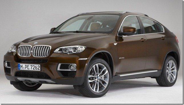 BMW X6 2012 passa por facelift