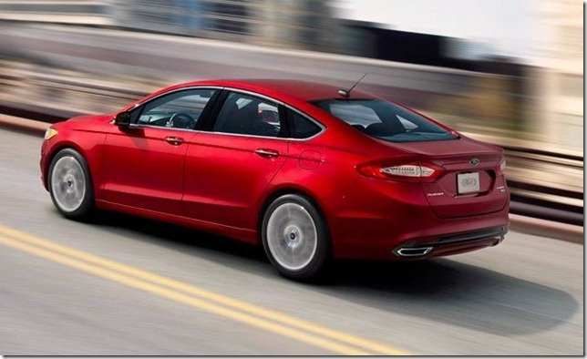 Este é o Ford Fusion 2013