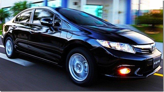 Novo Honda Civic 2012 começa a ser vendido hoje – Preços partem dos R$ 69.700