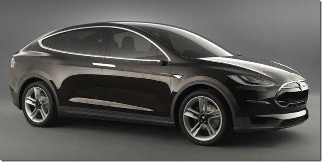 Tesla Model X Concept: um crossover elétrico