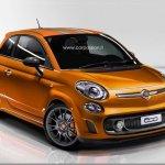 Reestilização do Fiat 500 pode seguir o 500L