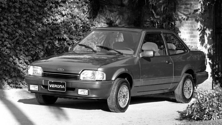 Ford foto antiga do Verona - 1989