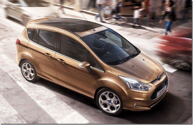 Ford B-Max tem mais detalhes divulgados