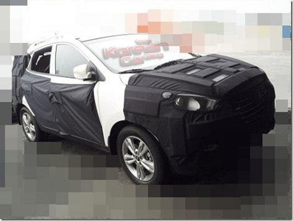 Hyundai ix35 passará por reestilização em breve