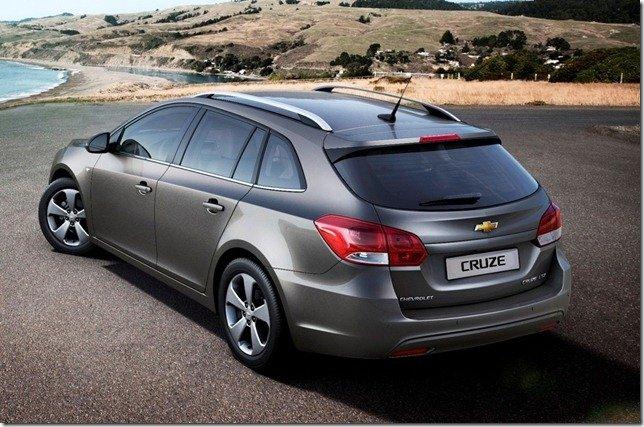 Primeira imagem do Chevrolet Cruze Wagon