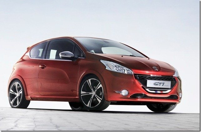 Peugeot mostra o 208 GTi Concept