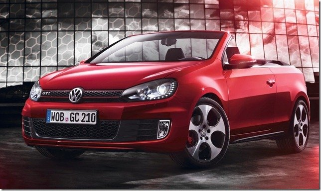 Volkswagen revela o Golf GTI Cabrio