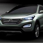 Primeiras imagens do Hyundai Santa Fe 2013