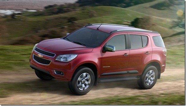 Esta é a nova Chevrolet TrailBlazer 2013 definitiva