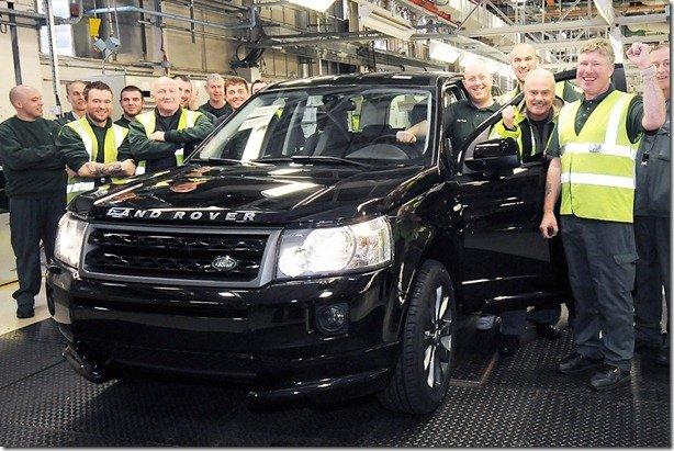 Land Rover Freelander 2 de número 300 mil virá para o Brasil