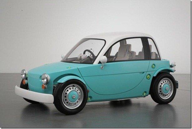 Toyota Camatte: brinquedo de gente pequena