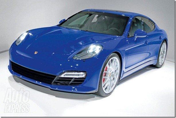 Seria assim o Porsche Pajun?