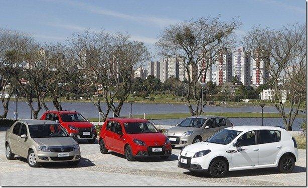 Renault lança Sandero e Logan 2013 com novo motor