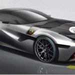 Ferrari divulga esboço do SP Ayra, unidade única para milionário indiano