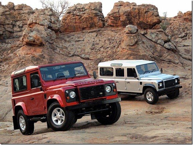 Land Rover Defender está envolvido em recall no Brasil