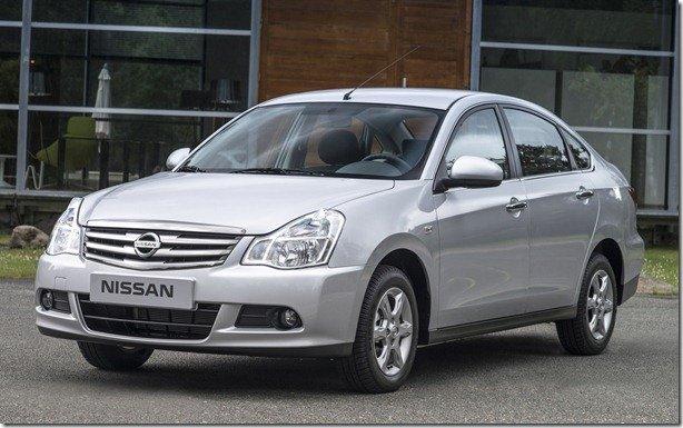 Nissan apresenta Almera para o Leste Europeu