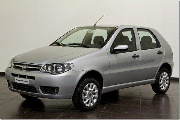 Fiat irá reestilizar o Palio Fire Economy