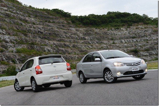 Toyota Etios terá versões com preços entre R$ 35 mil e R$ 48 mil
