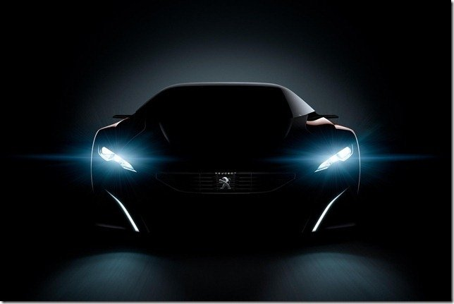 Peugeot divulga teasers do conceito Onyx