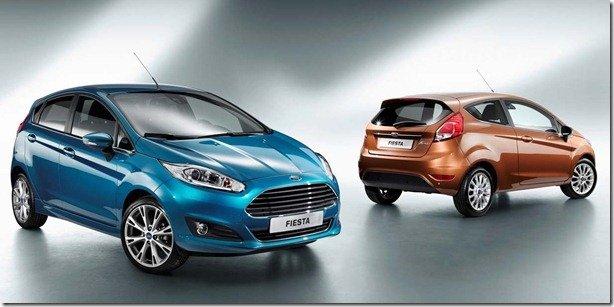 Ford revela o Fiesta 2013