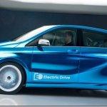 Mercedes divulga imagem do Classe B elétrico