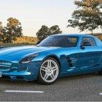 Mercedes apresenta a versão de produção do SLS AMG Electric Drive