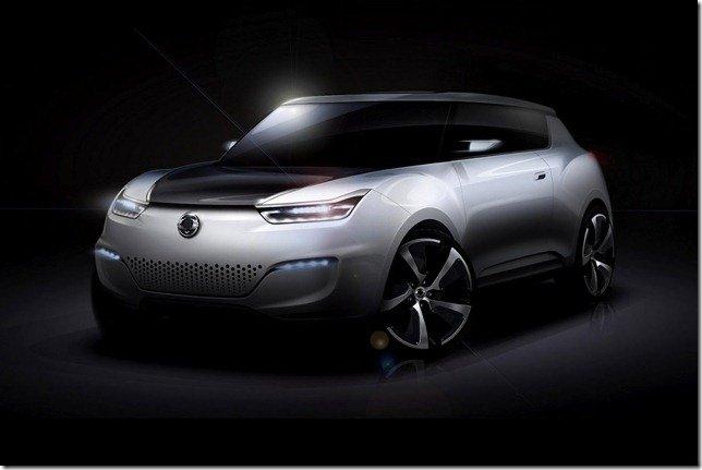 SsangYong e-XIV Concept será apresentado em Paris