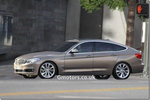BMW Série 3 GT é flagrado sem camuflagem