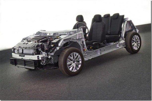 PSA Peugeot-Citroën apresenta sua plataforma modular