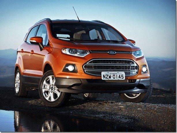 Ford EcoSport chegará à Europa dentro de um ano
