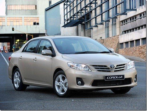 Toyota convoca mais de 1 milhão de carros para recall