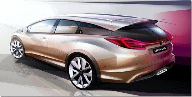 Honda Civic Wagon será antecipado em Genebra