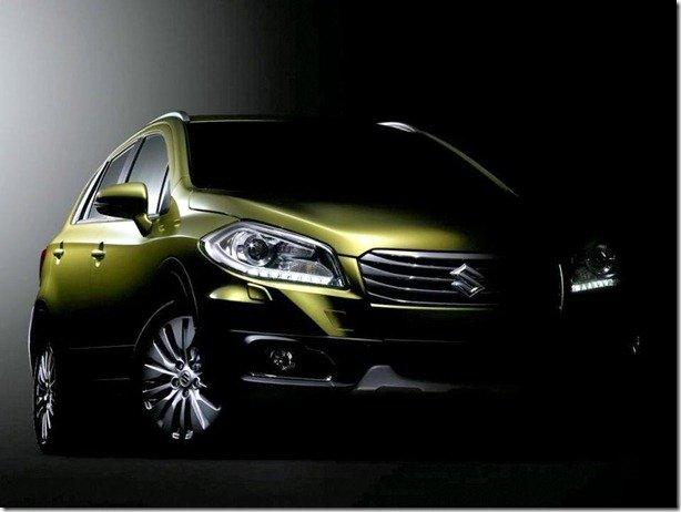 Suzuki divulga teaser de seu novo crossover