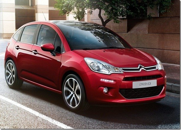 Citroën C3 francês recebe visual do modelo brasileiro