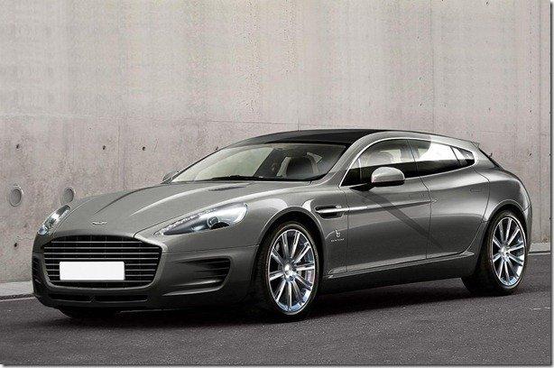 Bertone cria perua do Aston Martin Rapide