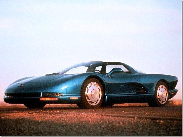 Porra, por que não produziram!? – Chevrolet Corvette CERV-III