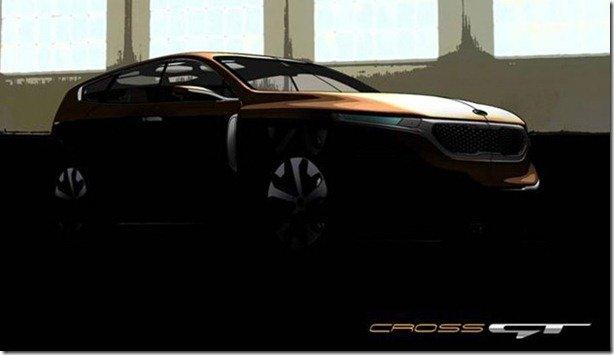Kia Cross GT antecipa o substituto do Mohave