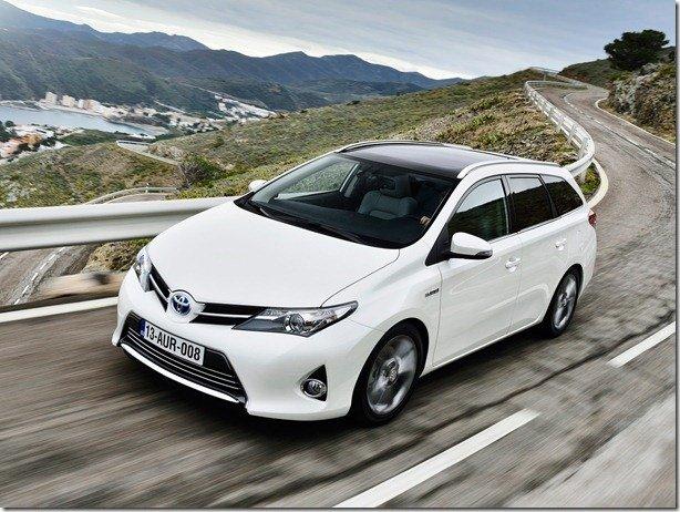 Toyota Auris Touring Sports será lançado em genebra