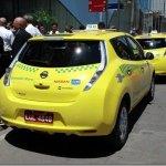 Nissan entrega dois LEAF para frota de táxis do Rio de Janeiro