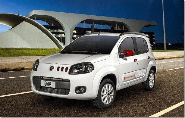 Série College é novidade do Fiat Uno 2014