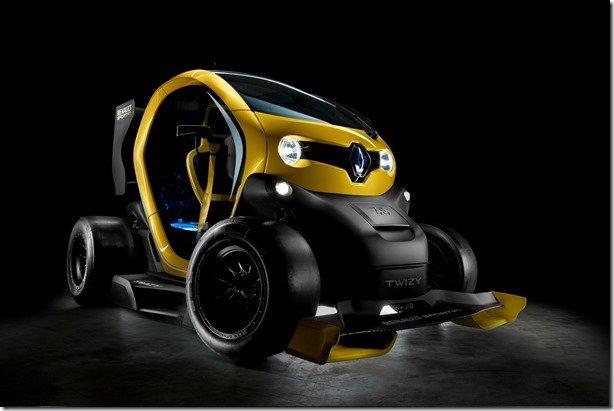 Twizy Renault Sport F1 tem sistema KERS da Fórmula 1