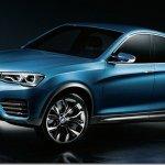 Vazam imagens do BMW X4 Concept