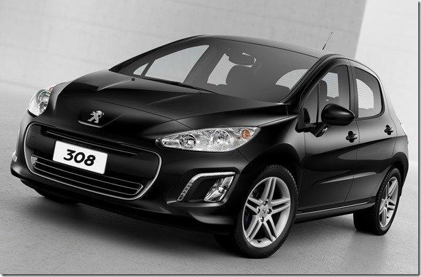 Câmbio automático de seis marchas será novidade da linha 2014 de Peugeot 308 e 408