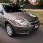Chevrolet Celta 2014 tem airbags e ABS