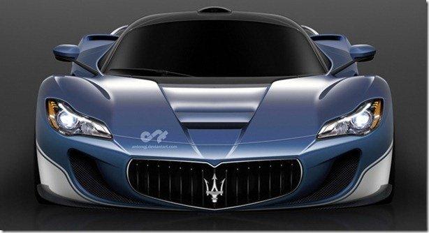 Maserati nega superesportivo baseado no LaFerrari