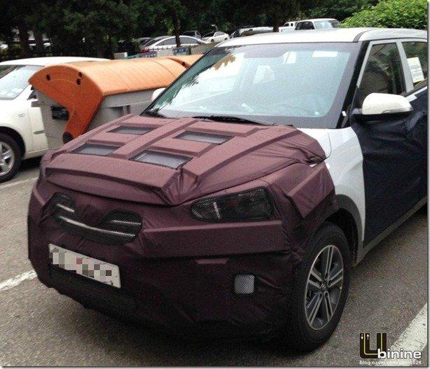 SUV compacto da Hyundai é flagrado na Coreia do Sul