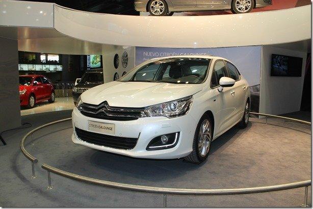 Salão de Buenos Aires – Citroën C4 Lounge será lançado no Brasil em setembro