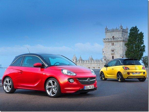 Opel Adam e Cascada podem ser vendidos nos EUA pela Buick