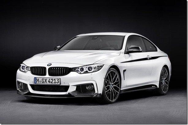 BMW Série 4 ganha acessórios M Performance